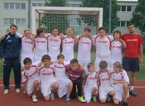 Starší žáci 1.NH Brno